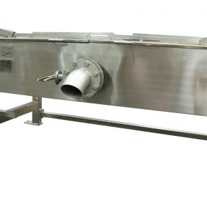 Brat pan with lid closed.
