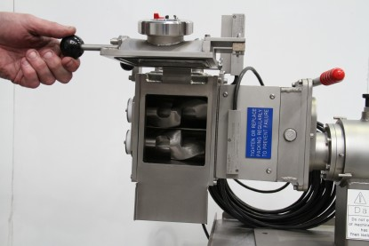 Kneader mixer laboratory scale. Jacketed. Vacuum and heating/cooling options.