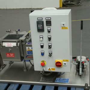 Kneader mixer laboratory scale. Jacketed. Vacuum and heating/cooling options; bench or trolley mounted.