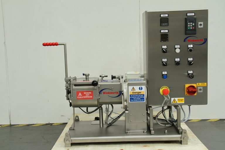 Kneader mixer laboratory scale. Jacketed, vacuum and heating/cooling options.