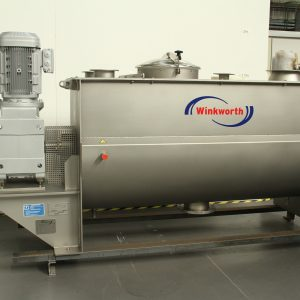 Ribbon blender mixer 1200 litre, interrupted spiral blade design. Powder mixer blender.