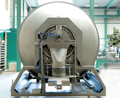ROTARY CONTINUOUS MIXERS