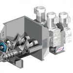 Kneader mixer extruder - various sizes available. Engineer to order or from stock.