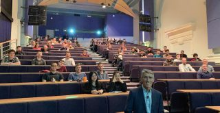 Winkworth's MD guest lecturer at Portsmouth University
